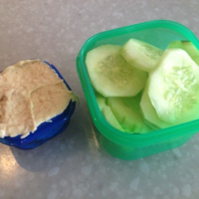 A 21 DAY FIX SNACK! It's a blue green kind of snack! Hummus & cucumbers. Fresh, easy and cheap! | CLICK on the pic or link for more tips - http://www.thefitclubnetwork.com/category/workouts/21-day-fix/
