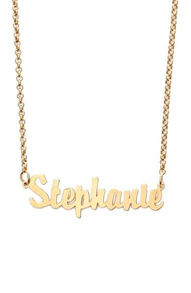 63b679b0c Personalized necklace- Argento Vivo Personalized Script Name Necklace  available at #Nordstrom