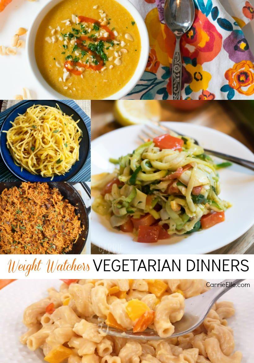 Weight Watchers Vegetarian Dinners Vegetarian Recipe