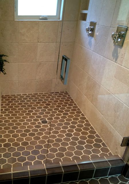 Hexagon Tiles And Square Wall