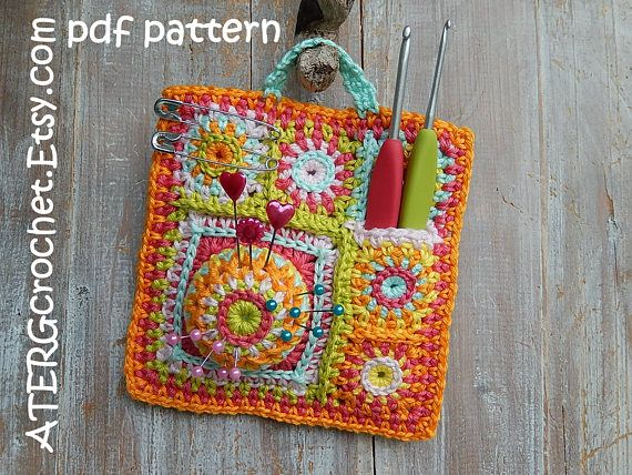 Crochet pattern \'ORGANISER\' by ATERGcrochet | Pinterest ...