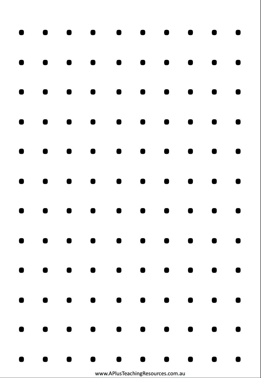 Predownload: Blank Dot Sheet Dots Game Dots Sheets Dot Worksheets [ 1234 x 854 Pixel ]