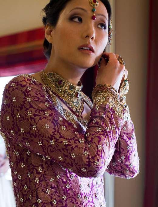 Multicultural Wedding Makeup Hair Korean Bride Indian Groom