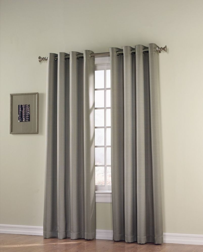 Downtown grommet 54 inch x 84 inch blackout panel with