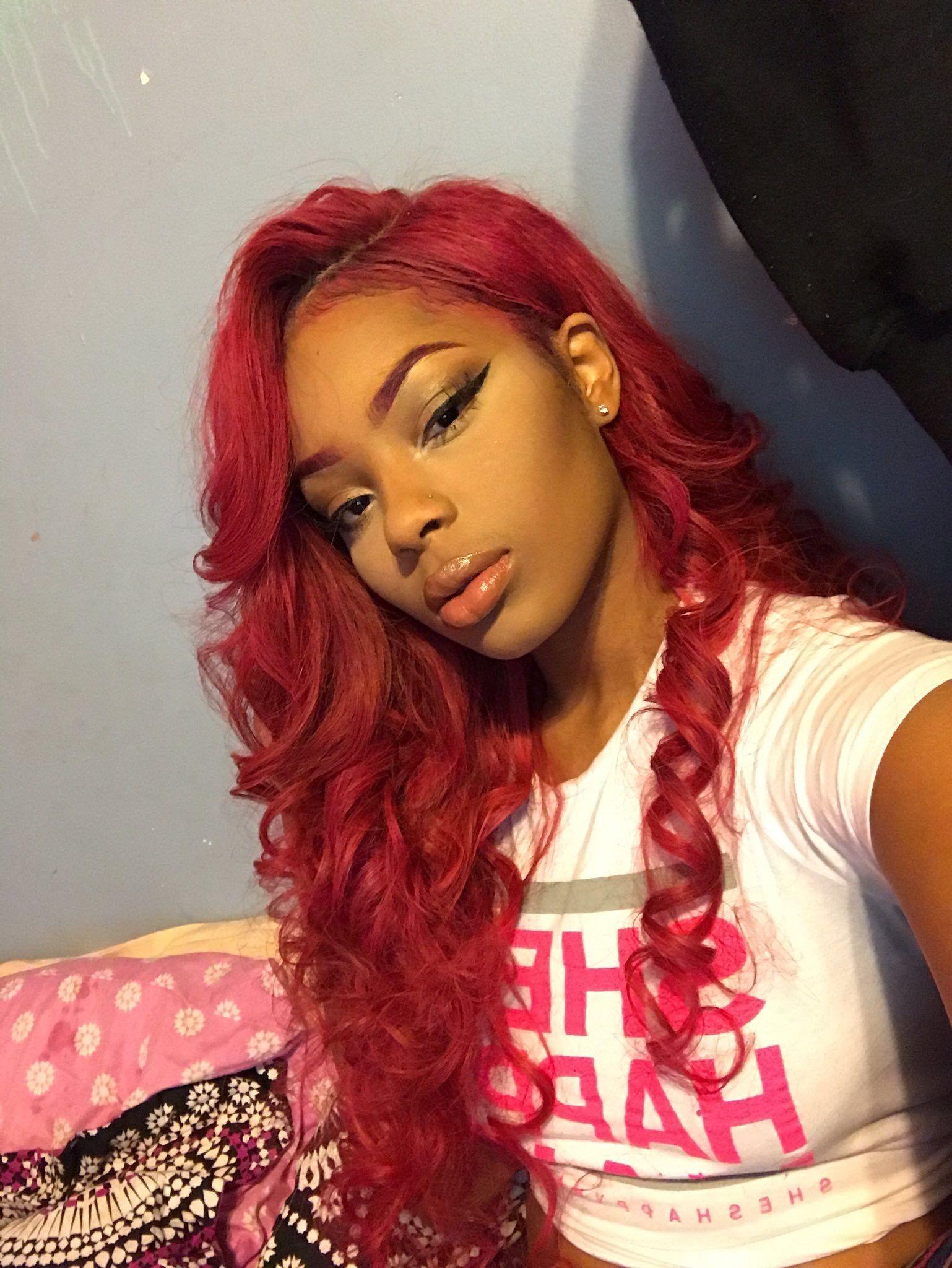 Pin By Queensayah On Hair In 2019 Hair Red Hair Hair Styles