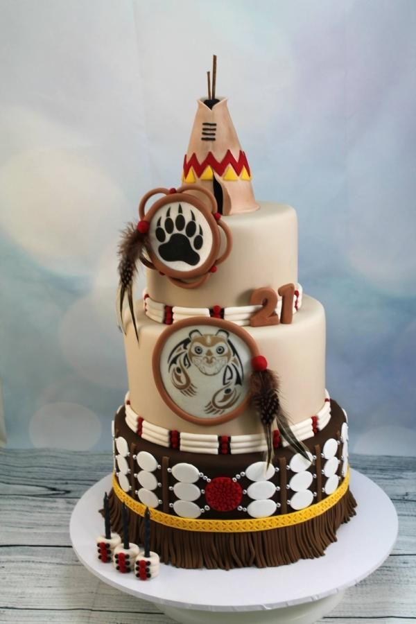 Cake Images Veer : Native American - Cake by Kake Krumbs Recepty na ...
