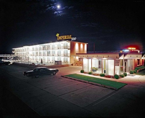1962, l'Imperial 500 Motel a Wildwood nel New Jersey