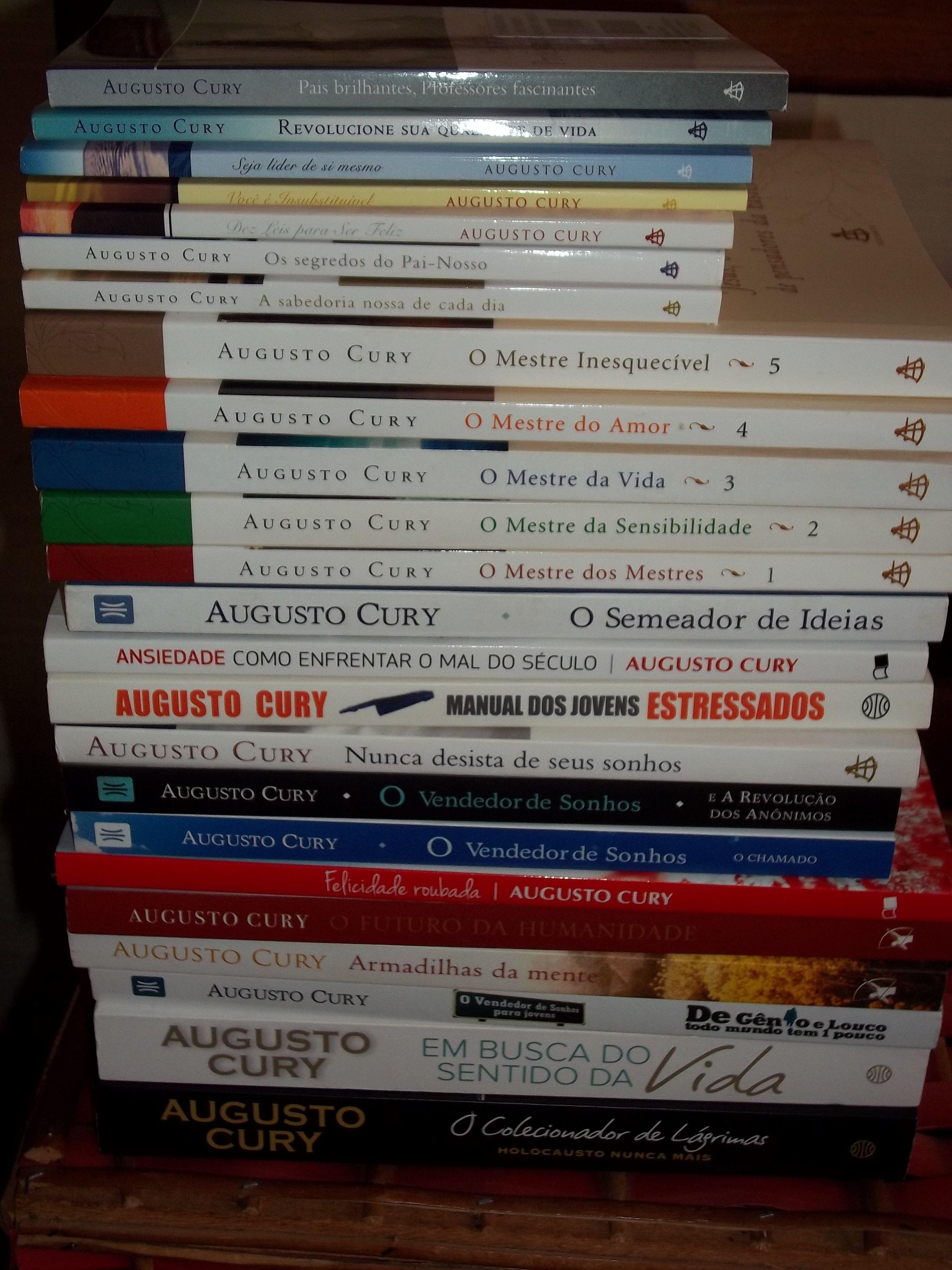 Colecao Augusto Cury Augusto Cury Livros Do Augusto Cury