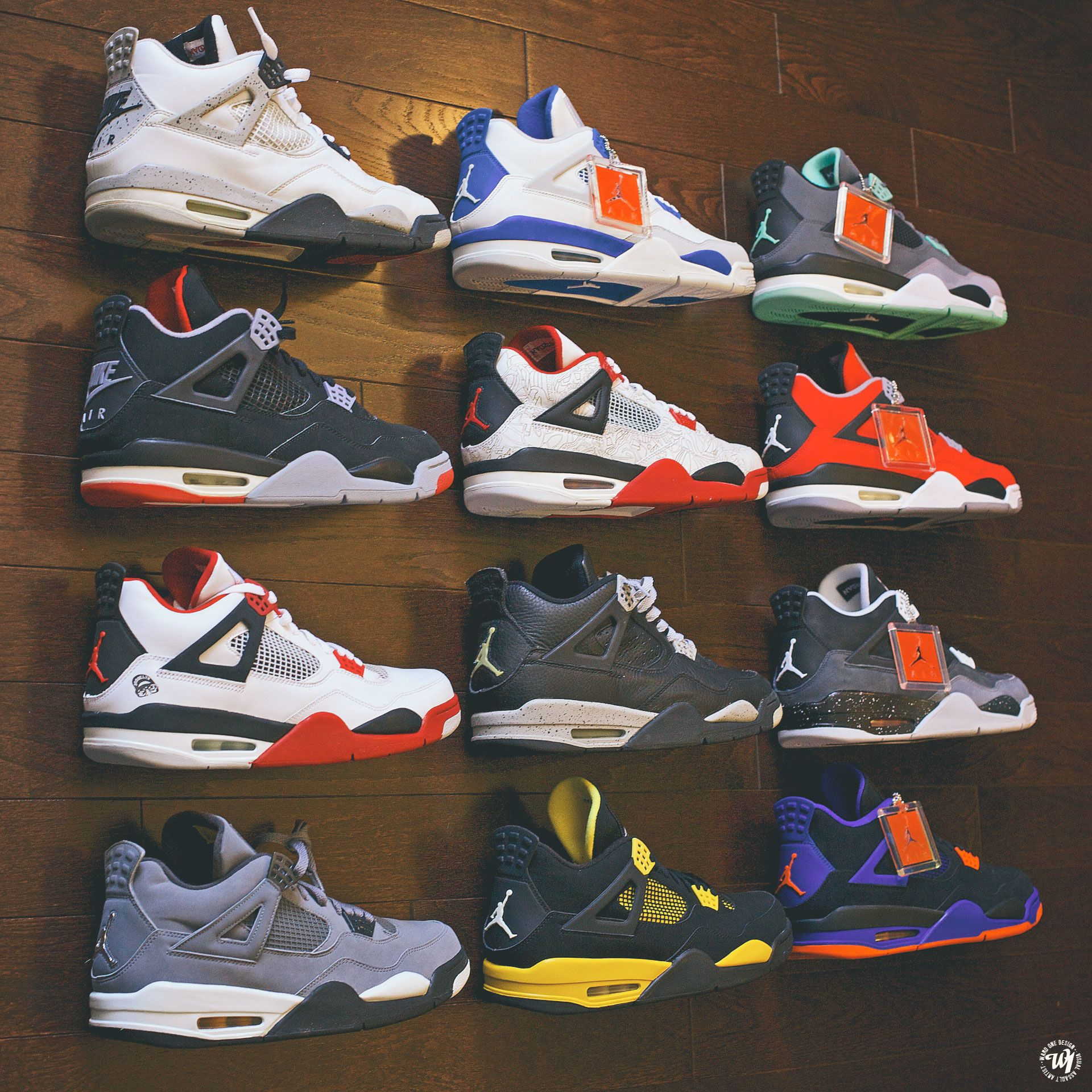 5158e78ccb8e The Air Jordan 4 took the world by storm in 1989. Along with a career  season came a career sneaker.Tinker Hatfield once again designed this shoe.