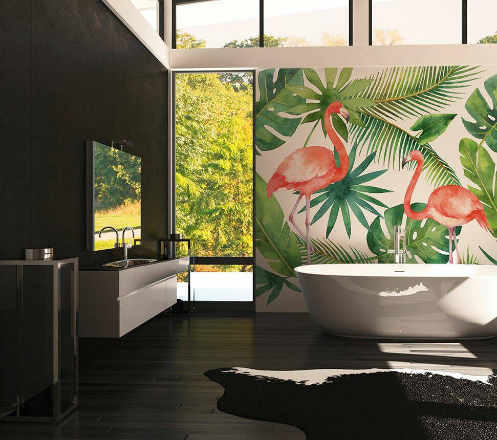 A S Creation Fototapete Flamingo 1 Dd116612 In 2021 Fototapete Dschungel Tapete Tapeten
