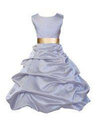 Bethany's pick floor length bridal type dress