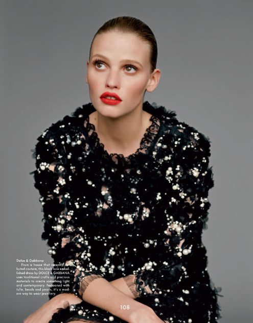 lara stone for the gentlewoman fall 2012 by alasdair mclellan