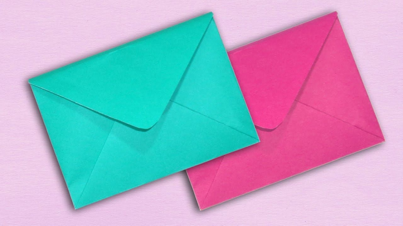 how to make envelope paper