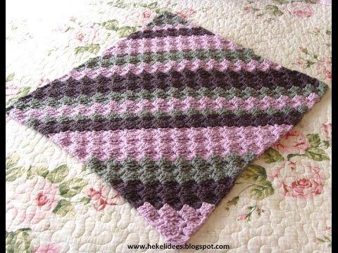 Crochet Patterns For Free Lacy Baby Blanket Crochet Pattern 1224