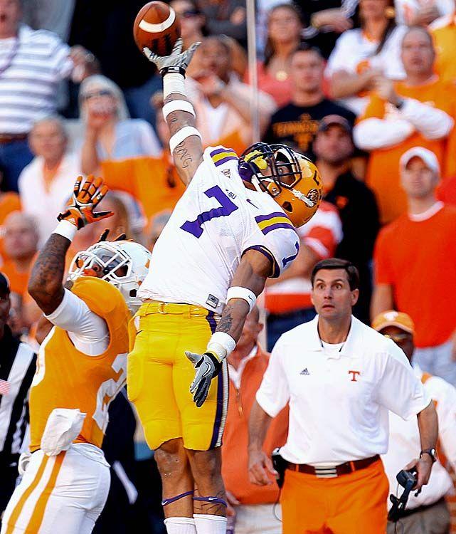 #1 LSU 38 - Tennessee 7 | Lsu football, Lsu tigers ...