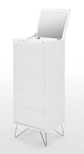 Commode Elona : cette pièce moderne sublime votre déco, sans jamais surcharger votre pièce. Laissez-la se fondre dans votre intérieur, tout en profitant de son espace de rangement spacieux.