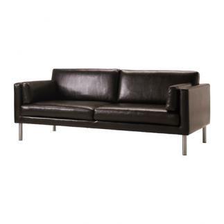 Se vende sof 2 5 plazas fr sig marr n oscuro ikea - Segunda mano barcelona sofas ...