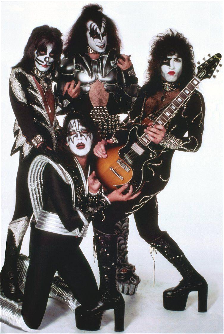 "KISS Band KISS Collectibles KISS White Room"""