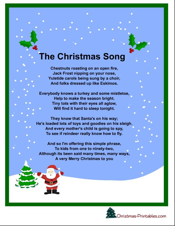 Free Printable Christmas Carols And Songs Lyrics Christmas Songs Lyrics Christmas Carols Lyrics Christmas Lyrics