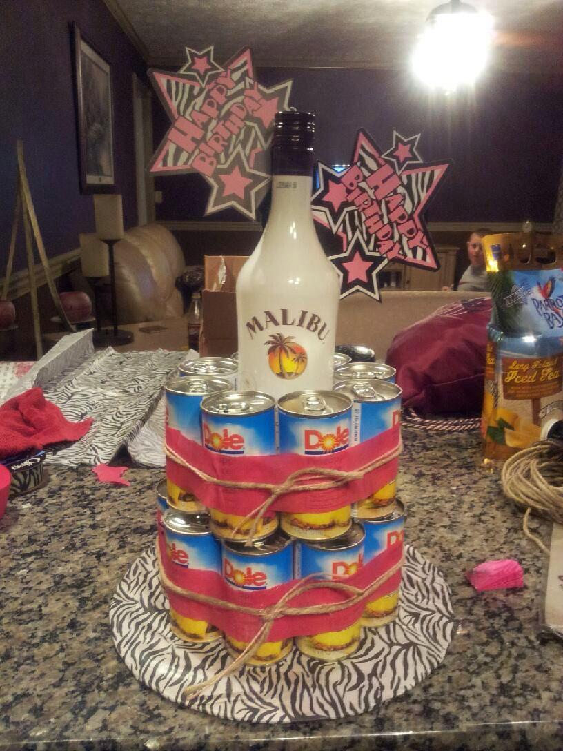 My Friend Wendy S Take On The Jack Amp Coke Cake Malibu