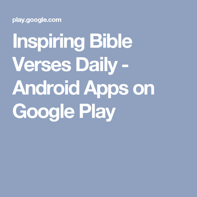 Inspiring bible verses daily android apps on google play baking android stopboris Gallery