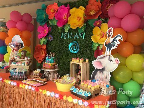Moana Birthday Party Ideas Moana birthday party ideas Moana