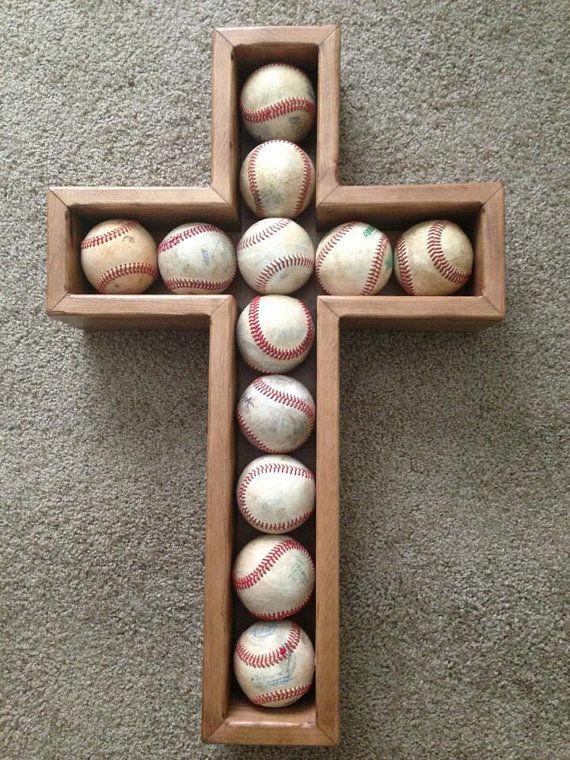 Photo of Baseball Cross Shadow box