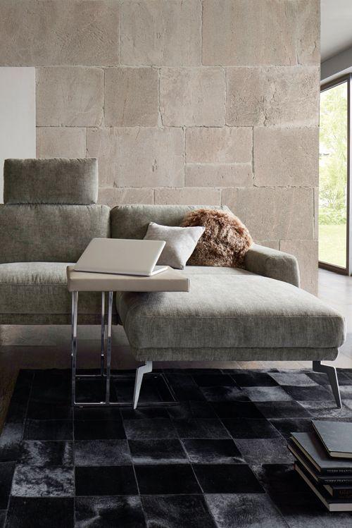 Grazile Schönheit in Stoff Global Amadora Mehr Infos bei - gemütliches sofa wohnzimmer