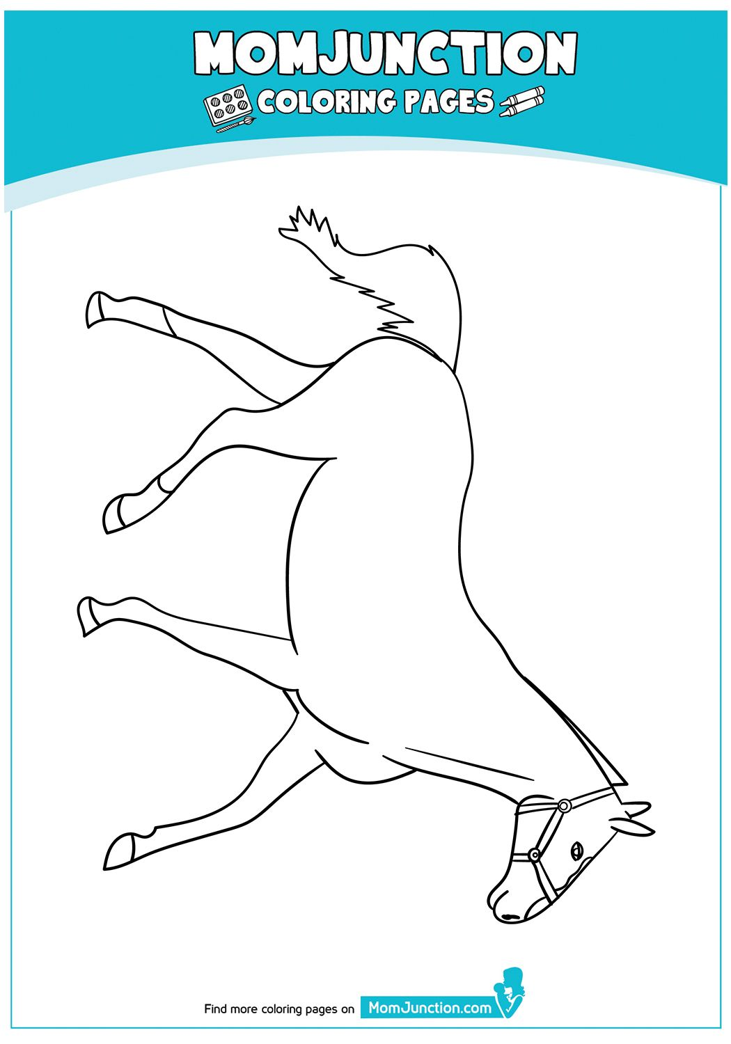 Heavy Warmblood Mare 17 Horse Coloring Pages Coloring Pages Horse Coloring [ 1500 x 1050 Pixel ]