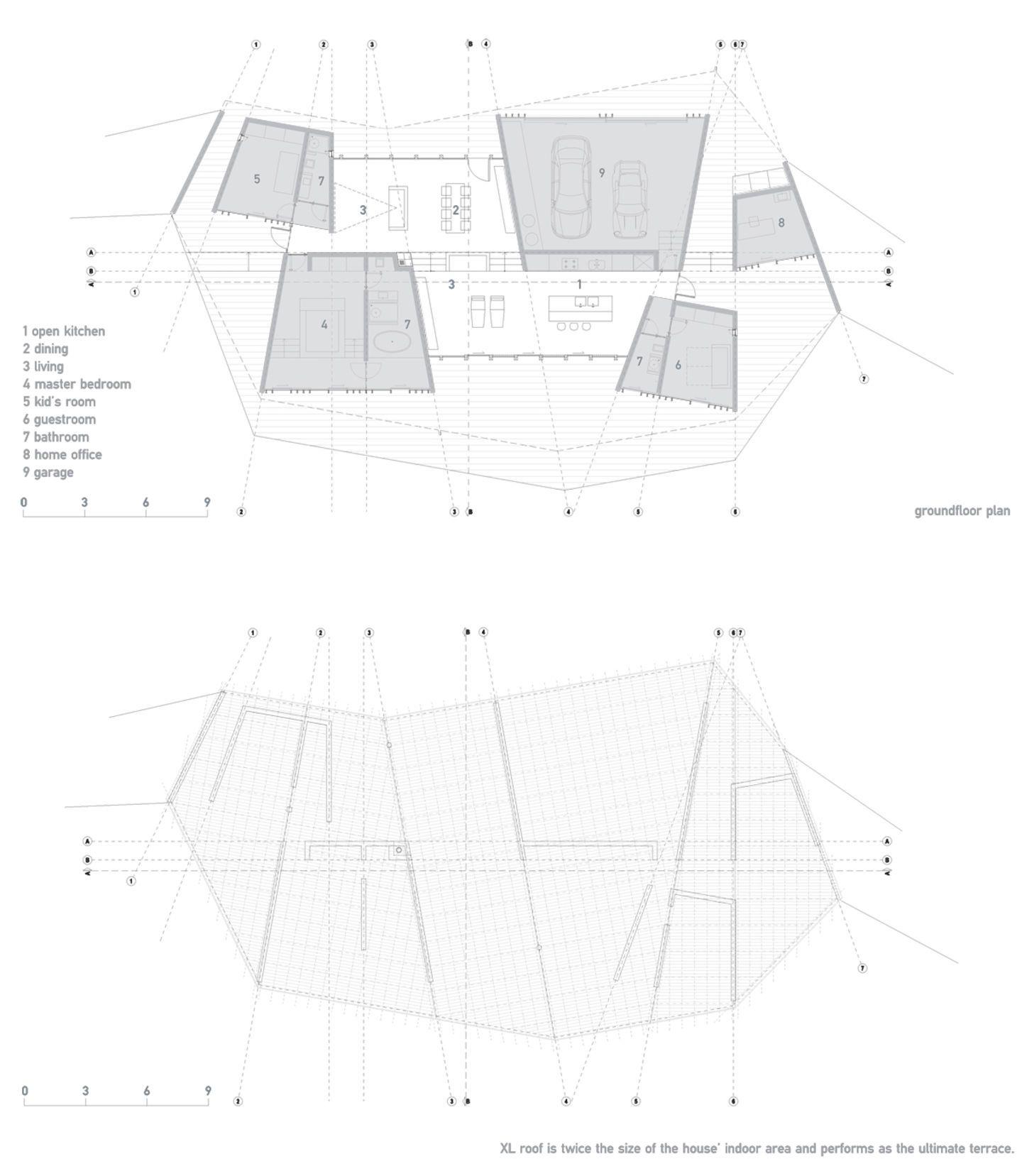 dekleva gregoric architects, Cristobal Palma · Clifftop house · Divisare