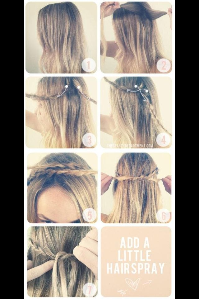 Strange Cute Hairstyle Fast And Easy My Style Pinterest Cute Short Hairstyles Gunalazisus