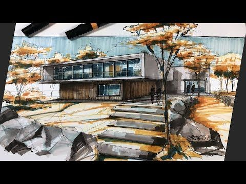 how to sketch architecture (house 11)