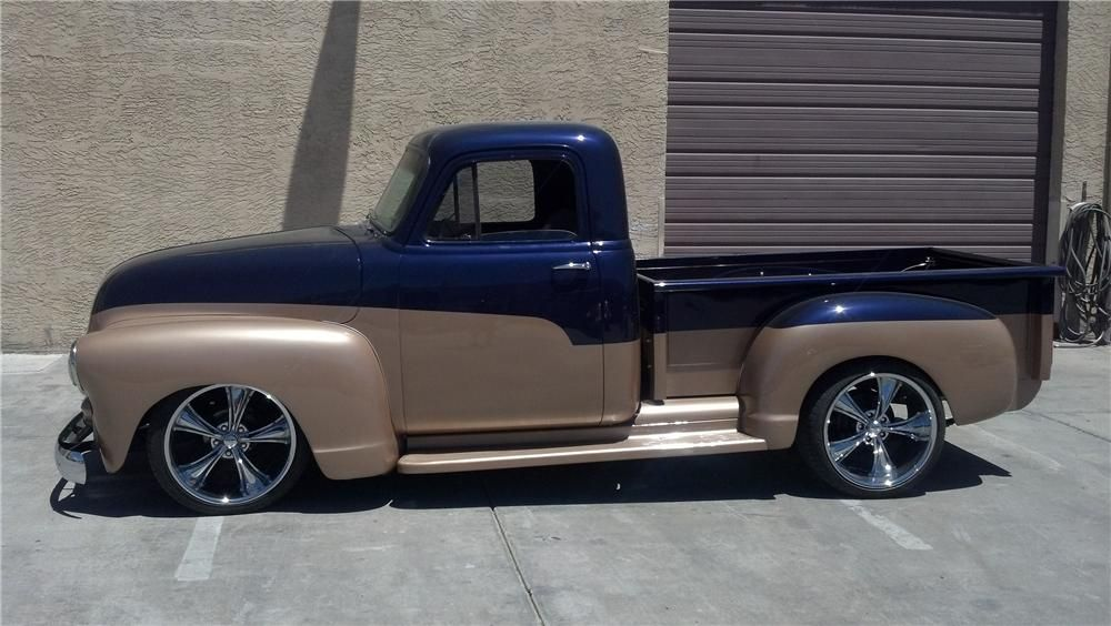 1954 CHEVROLET 3100 CUSTOM PICKUP | Custom Classic Trucks ...