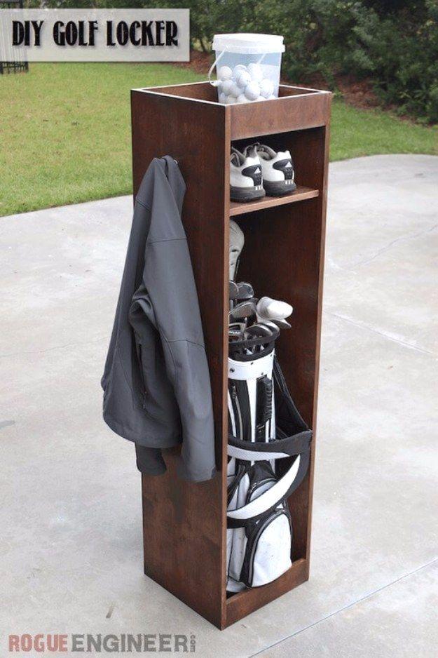 Diy projects your garage needs diy golf locker do it yourself diy projects your garage needs diy golf locker do it yourself garage makeover ideas solutioingenieria Gallery