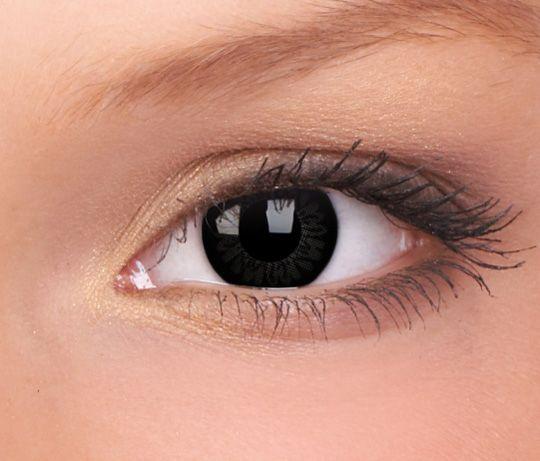 Big Eyes Dolly Black Contact Lenses