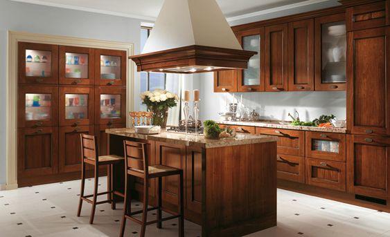 Scavolini Italienischer Design: Küchen, Badezimmer Und Wohnzimmer