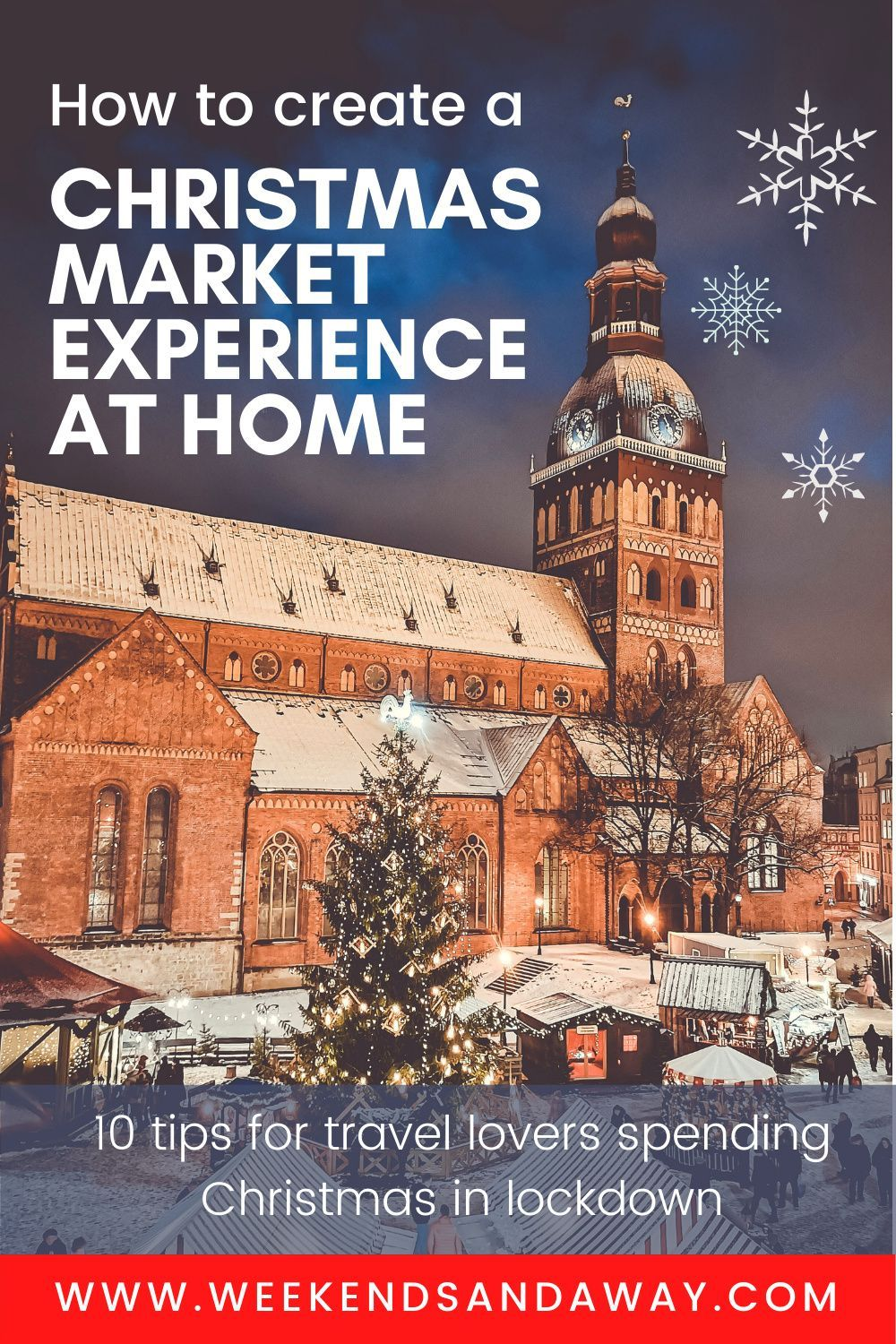 Even though we can't visit the European Christmas markets for real this year, I'm determined to still make the most of the festive season at home! Whilst the regular Christmas market experience won't be happening in 2020, I've put together a few creative ideas for how you can bring the magic of the European Christmas markets home, including food, decorations and other fun ideas. #Christmastravel #Christmasmarkets #lockdownchristmas