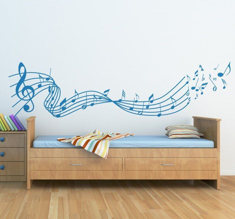 Beautiful Wall Sticker For The Room Of Your Baby Music Decoration - Beautiful-wall-stickers-to-decorate-your-house