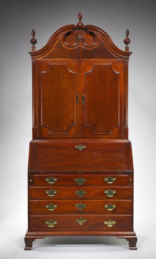 Desk And Bookcase 18th Century American Furniture Pinterest
