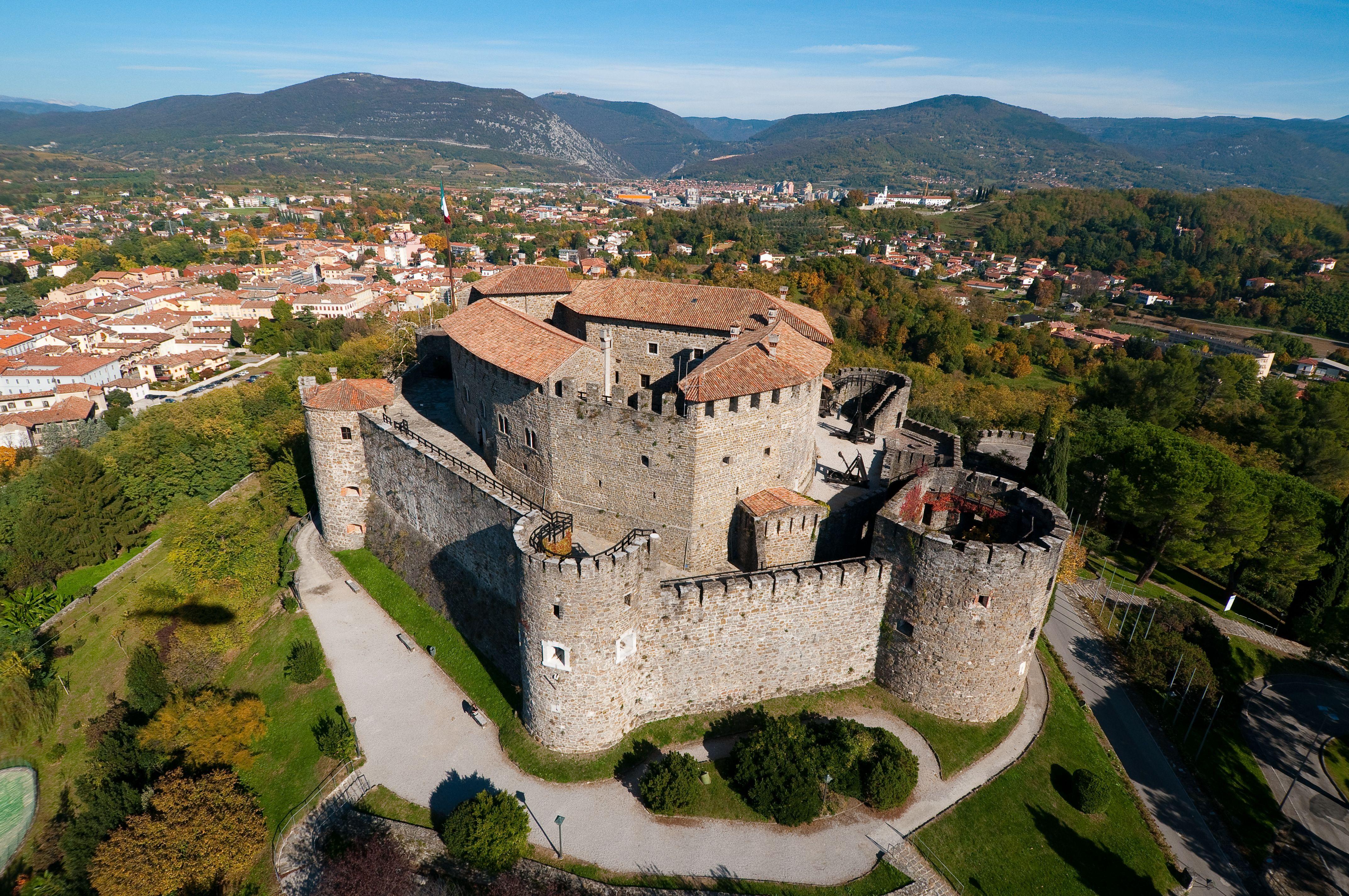 Gorizia, castle Italian castle, Castle, Friulivenezia