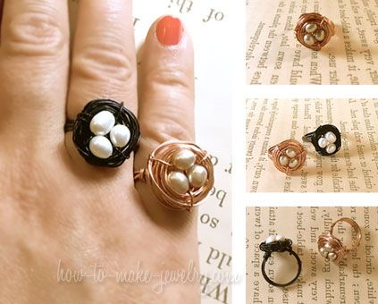 Wire Nest Ring Online Jewelry Class $12