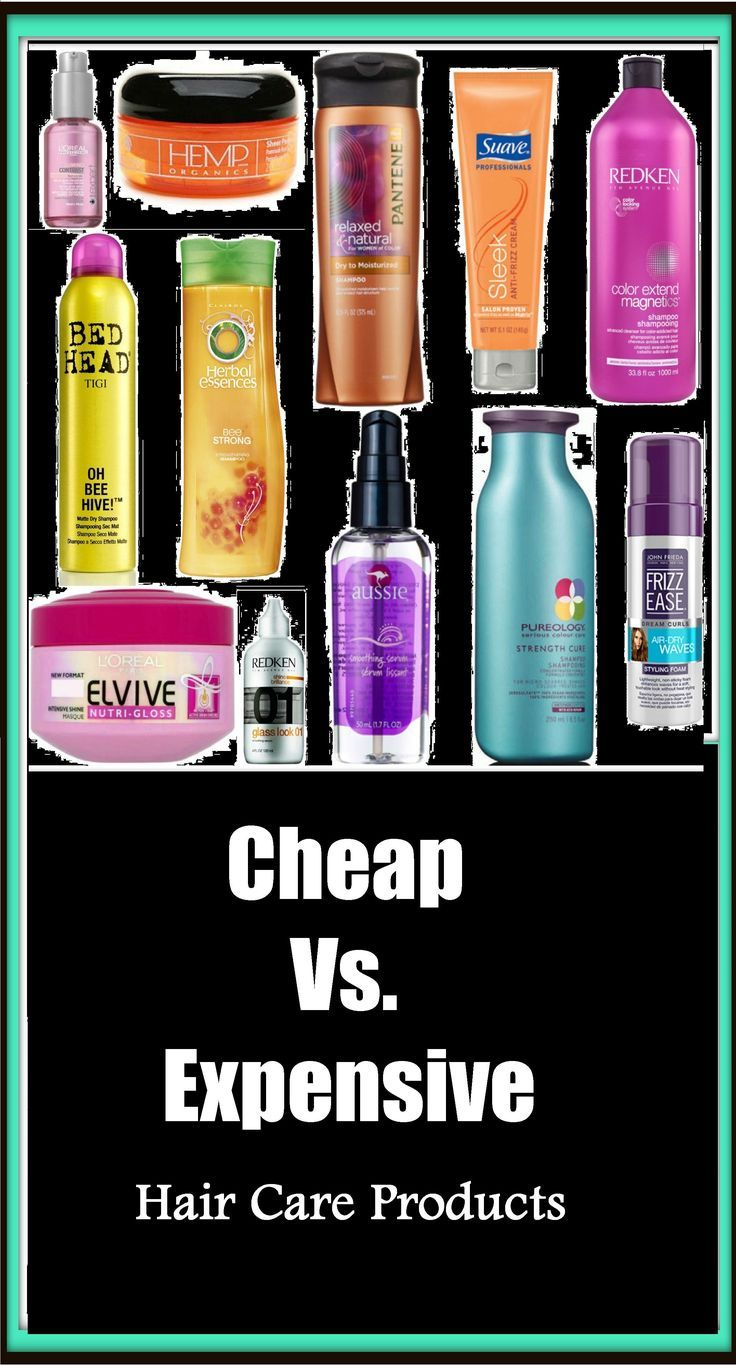 Cheap vs expensive hair care products what is the major