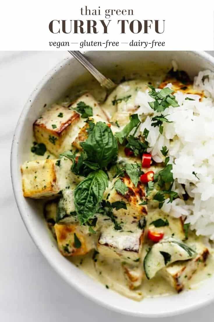 Photo of Thai Green Curry Tofu