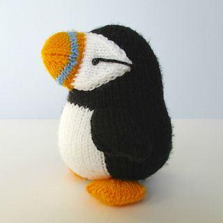 fluffandfuzz's Huffin Puffin | Knitting machine patterns ...