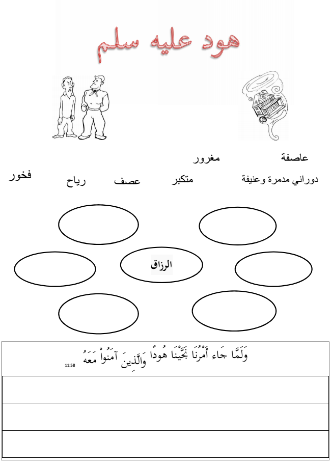 Printable Worksheets islamic studies worksheets : mamma, lär mig!: a worksheet about Prophet Hood aleihi salaam in ...