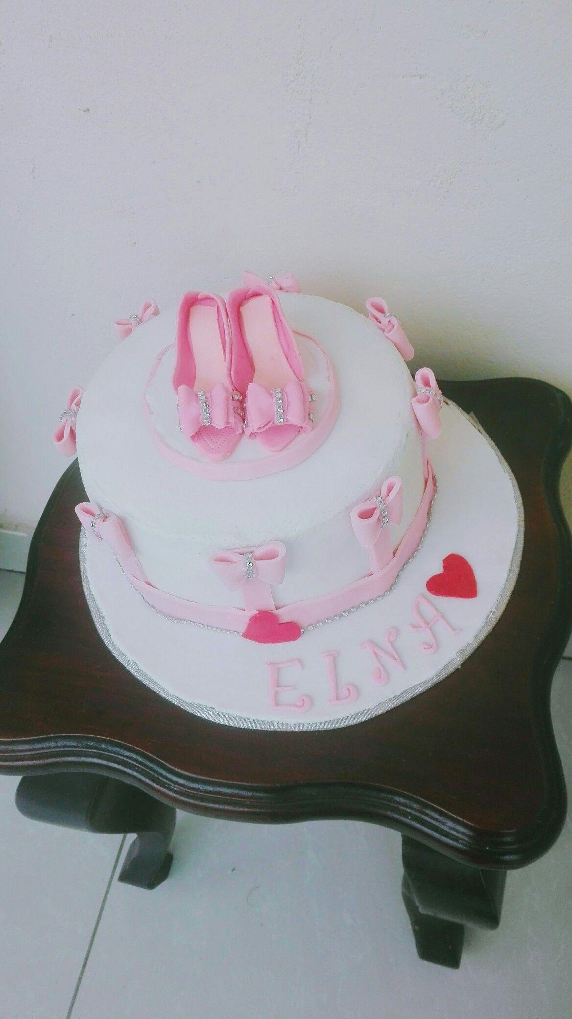 Birthday Cakes For Women Shoe Ladies Happy