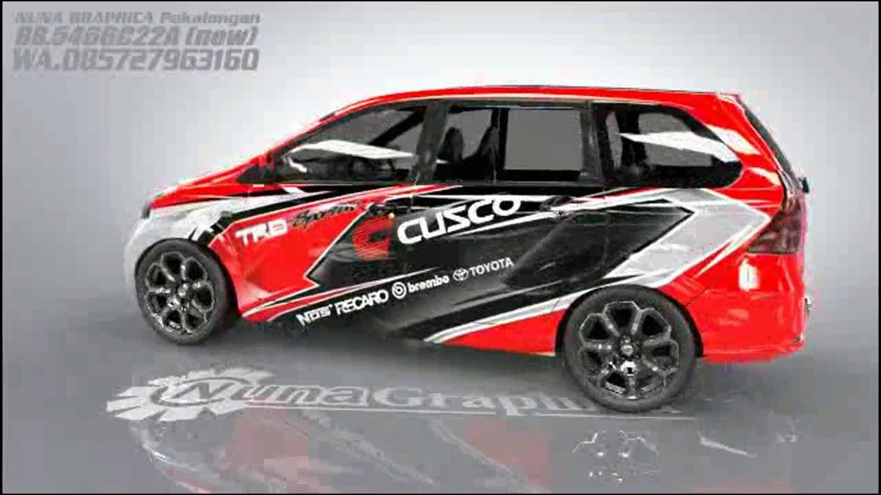 Siker Mobil Toyota Avanza Veloz Recaro Toy Car Sports Car
