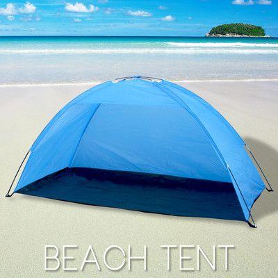 New Portable Pop Up Cabana Beach Shelter Infant Sand Tent