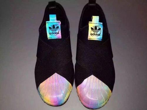 Adidas x Rita Ora Superstar Slip On W White Hologram