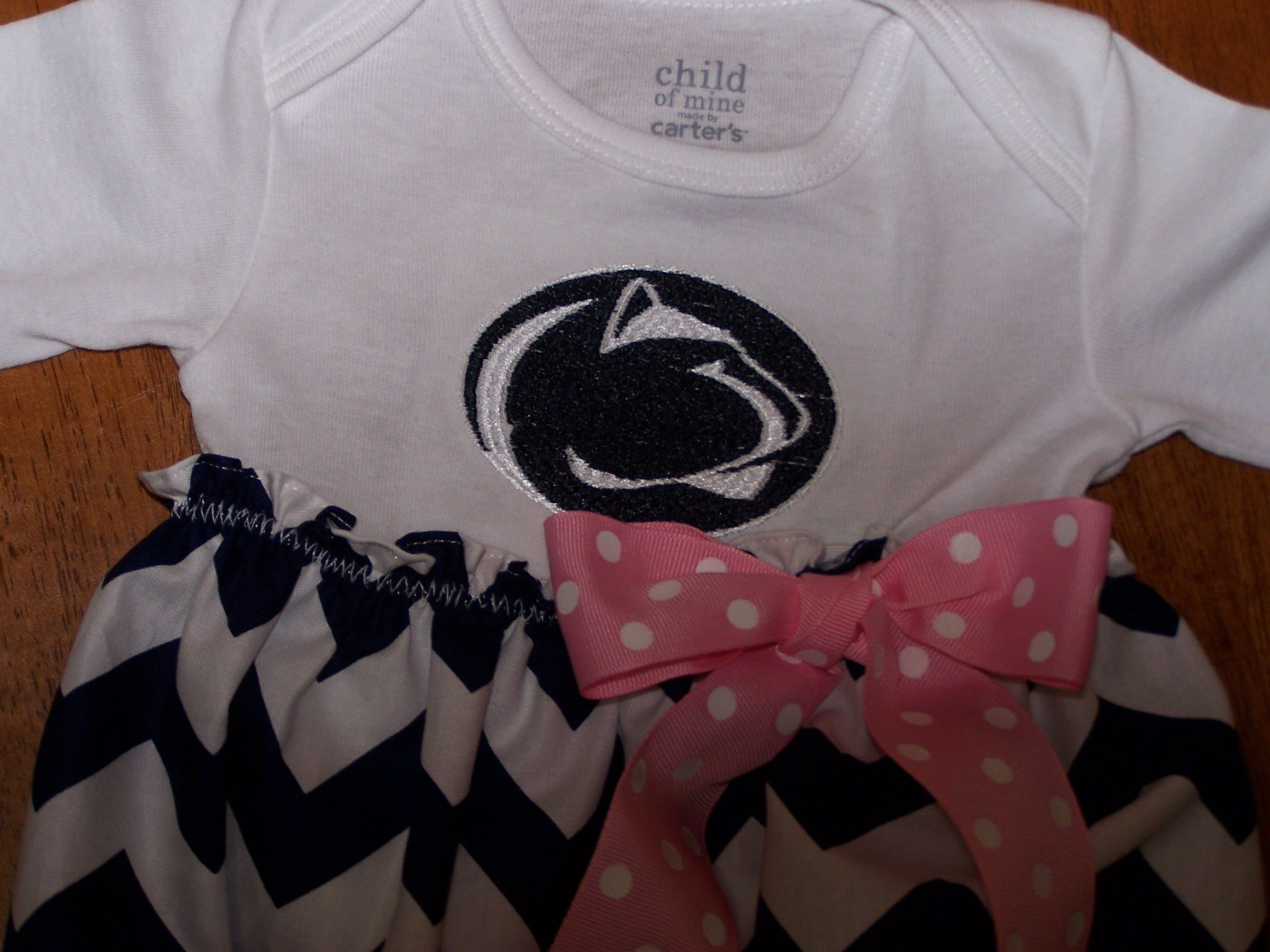 Penn State baby dress on Etsy My Sewing Projects